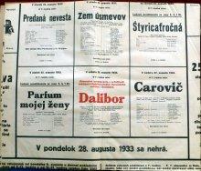 22. 8. - 28. 8. 1933
